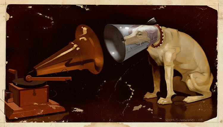 Ilustración de Rasmus Aagaard  ---  Clases de Guitarra Barcelona